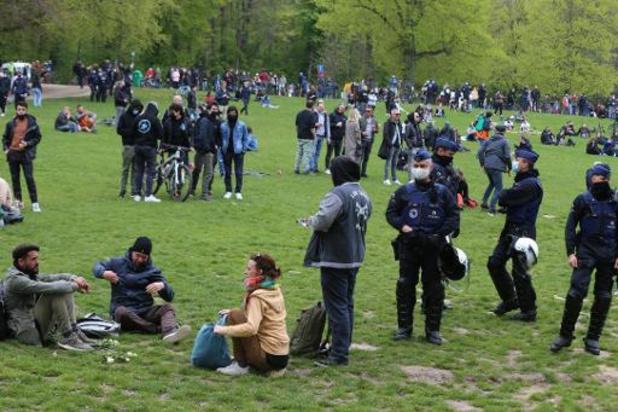 Quelques milliers de personnes présentes au Bois de la Cambre, la fête pas au rendez-vous