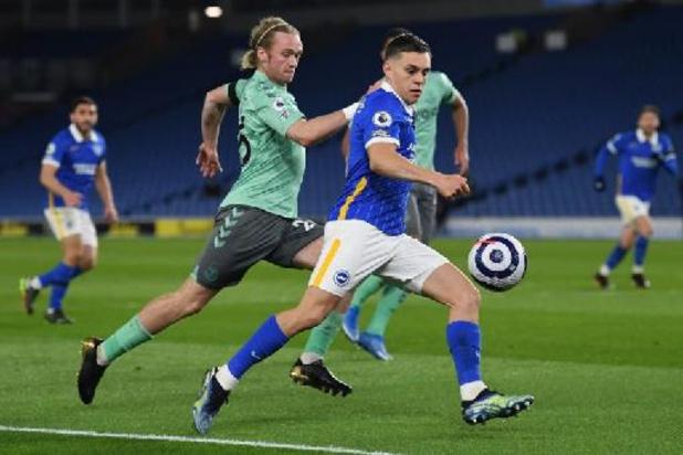 Les Belges à l'étranger - Brighton et Trossard partagent contre Everton