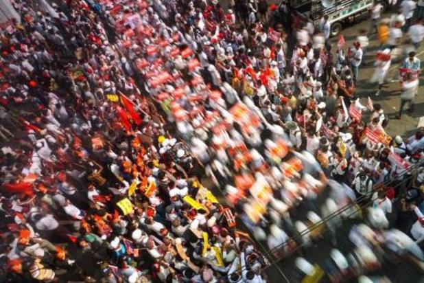 Grootste protestacties gemeld sinds staatsgreep