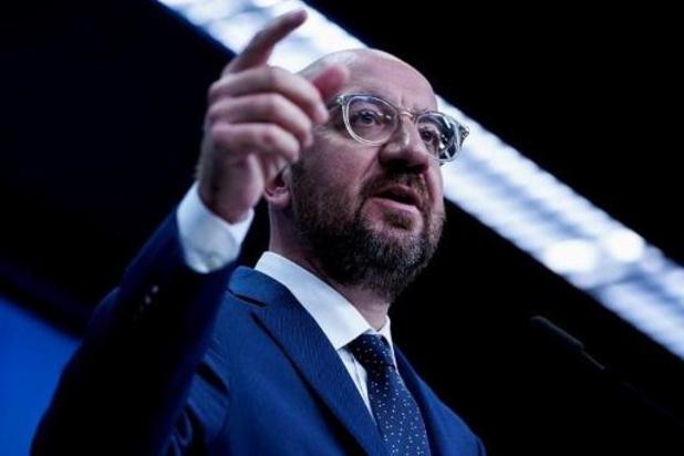 """Budget européen: la proposition de Charles Michel est """"un pas dans la bonne direction"""""""