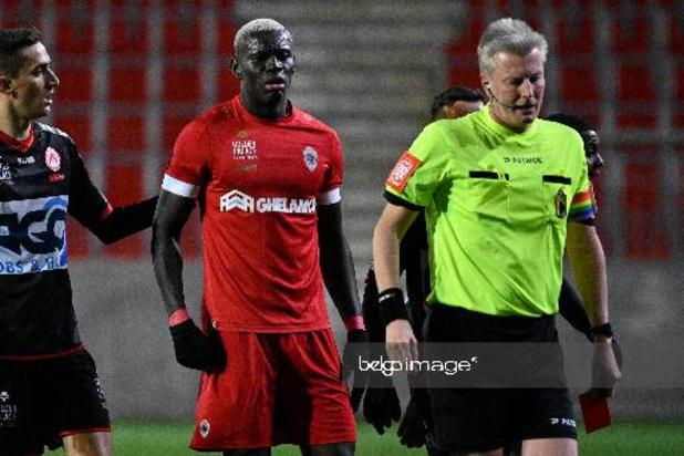 Jupiler Pro League - Bondsparket wil alsnog zwaardere straf voor Seck (Antwerp) en gaat in beroep