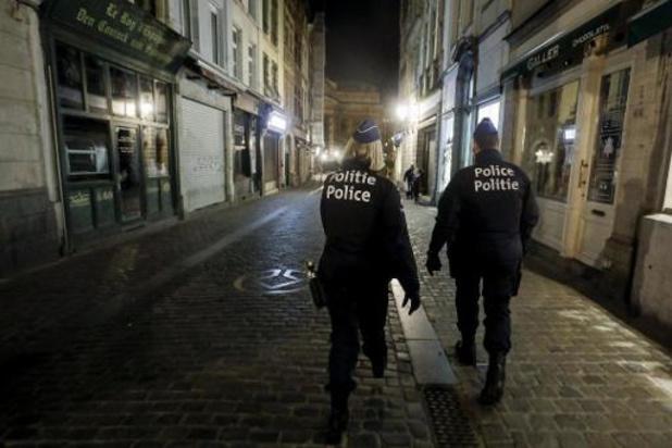 Brusselse politie pakt 209 mensen op en legt zes feestjes stil tijdens oudejaarsnacht