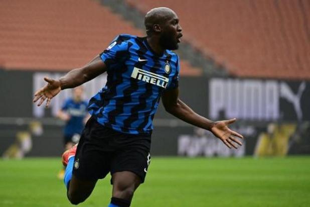 L'Inter, avec un but de Lukaku, remporte le derby milanais et creuse l'écart en tête