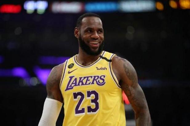 LeBron James staat nu wel open voor wedstrijden zonder publiek