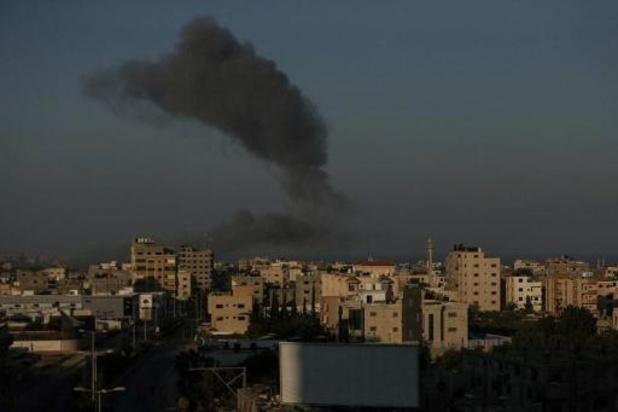 Gaza: tirs de roquettes vers Israël, frappes israéliennes sur le Hamas
