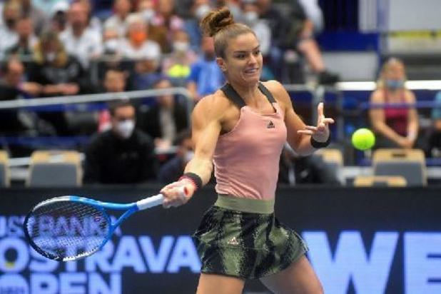 WTA Ostrava - Maria Sakkari et Anett Kontaveit en finale