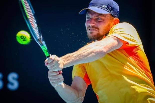 David Goffin éliminé au 1er tour du double au tournoi de Montpellier