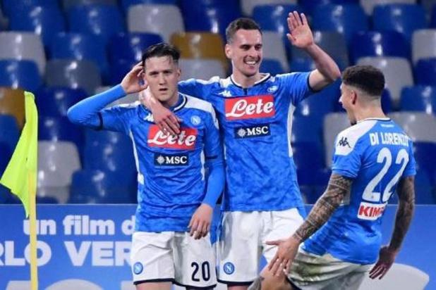 Les Belges à l'étranger - Naples, privé de Mertens, inflige à la Juventus sa deuxième défaite de la saison
