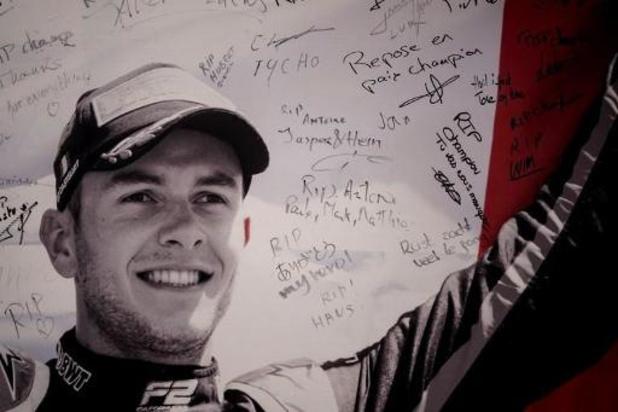 Geen schuldige na dodelijk ongeval tijdens Formule 2-race in Spa-Francorchamps