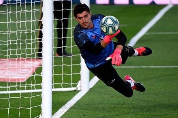 Thibaut Courtois sponsort met Esportsbedrijf Spaanse derdeklasser Inter de Madrid