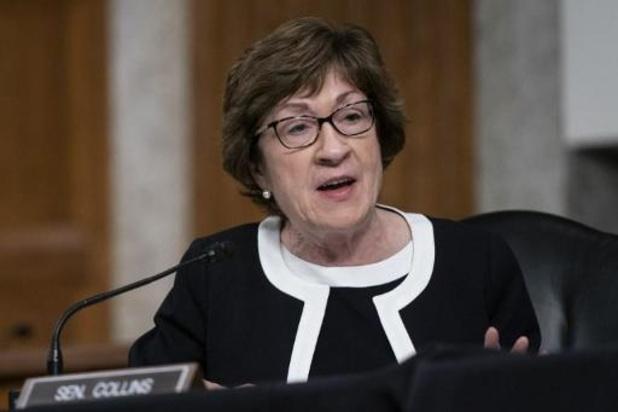 Republikeinse senatrice Susan Collins herverkozen