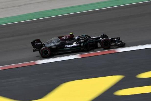 Bottas en pole à Portimao devant Hamilton et Verstappen