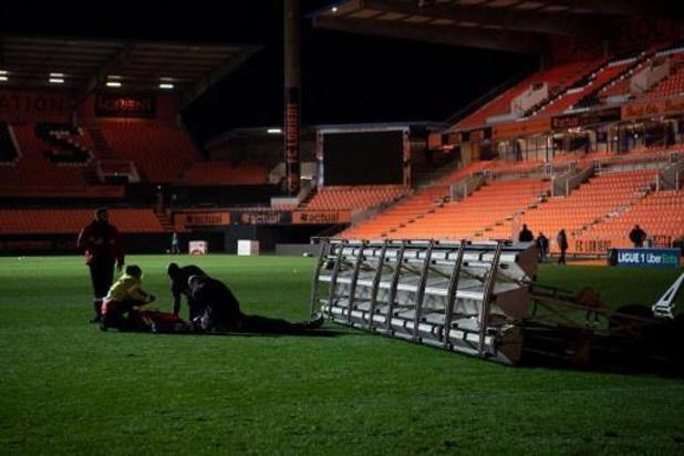 Ligue 1 - Lorient-greenkeeper overleden na bizar ongeval