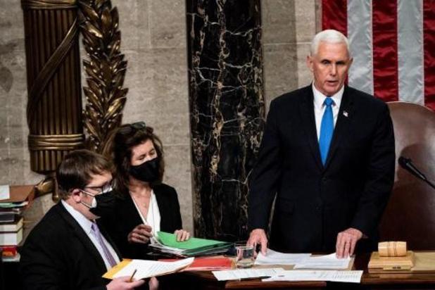 President Trump bekommerde zich niet om veiligheid van vicepresident Pence
