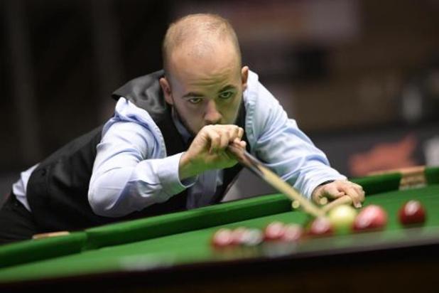 """Championship League snooker - Luca Brecel heeft tweede grote toernooizege beet: """"Ongelooflijk blij mee"""""""