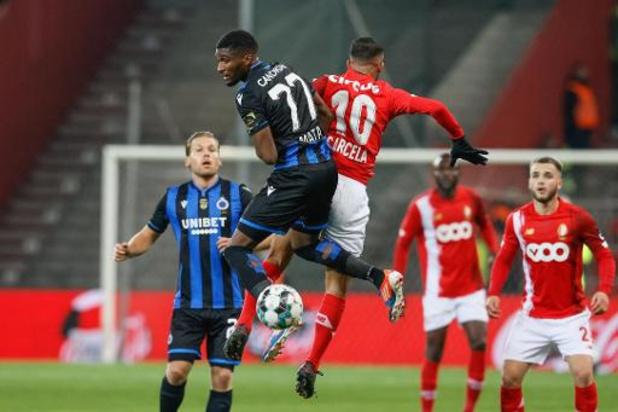 Club Bruges/Standard et Anderlecht/La Gantoise à l'affiche de la 23e journée