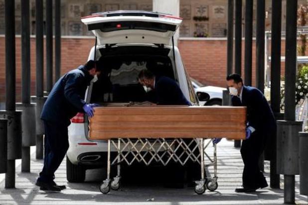 Coronavirus : le nombre de morts repart en hausse en Espagne