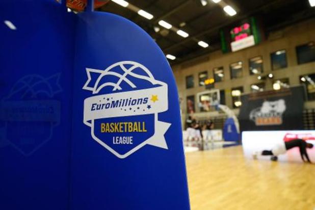 Euromillions Basket League: La Coupe de Belgique change de format
