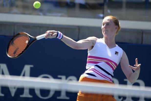 WTA Tashkent: Alison Van Uytvanck se qualifie en deux sets pour les quarts