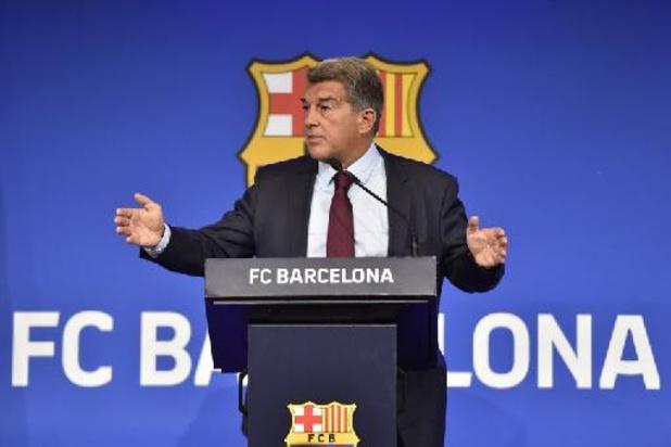 """Le président du Barca: """"Nous avions un accord avec Messi, mais la Liga ne le valide pas"""""""