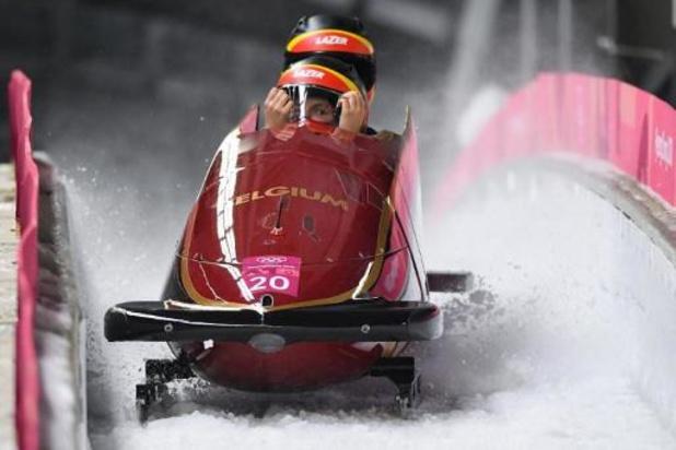 WK bobslee - An Vannieuwenhuyse en Kelly Van Petegem worden elfde in Altenberg