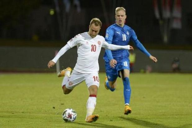 Ligue des Nations - Le Danemark consolide sa troisième place derrière la Belgique