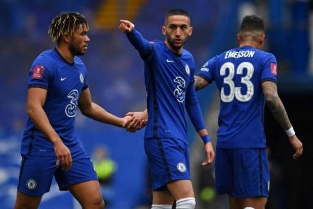 Chelsea zet ongeslagen reeks verder in FA Cup