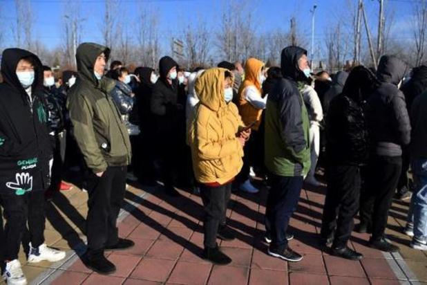 Vaccination à grande échelle à Pékin avant le Nouvel an chinois