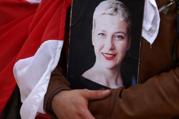 Celstraf Wit-Russische protestleidster Kolesnikova met twee maanden verlengd
