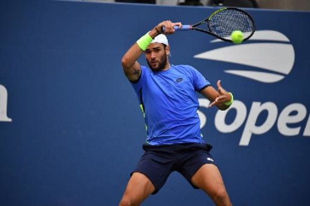 US Open - Matteo Berrettini qualifié pour les quarts de finale de l'US Open