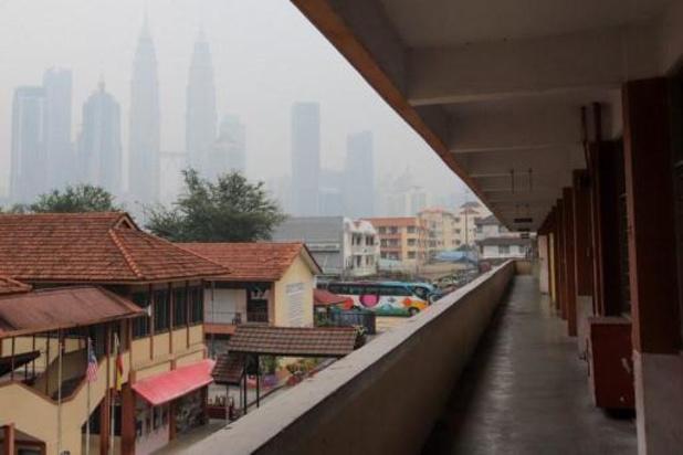 Feux de forêt: fermeture de milliers d'écoles en Indonésie et en Malaisie