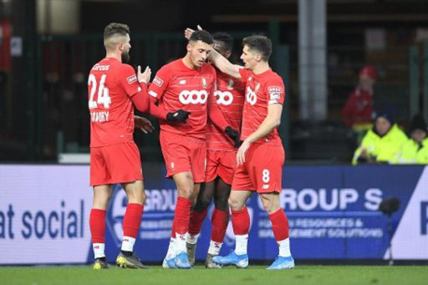 Jupiler Pro League - Le Standard vient à bout du Cercle, lanterne rouge, dans les arrêts de jeu