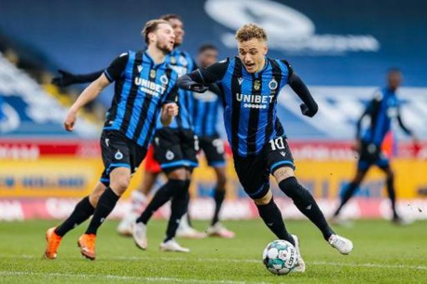 Le Club de Bruges surclasse le Standard et assoit son autorité sur le championnat