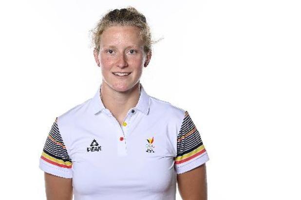 La finale A constitue l'ambition du K2 féminin sur 500 mètres Hermien Peters/Lize Broekx