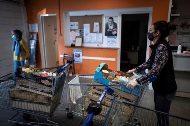 Resto du C?ur zag vraag naar voedselhulp in 2020 met 62% toenemen