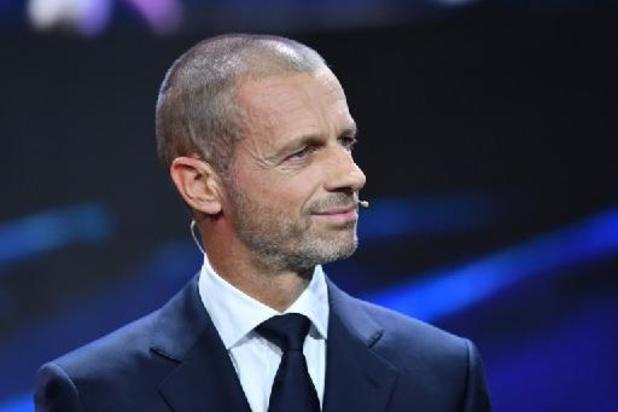 """L'UEFA fustige """"l'avidité"""" des frondeurs de la Super Ligue et adopte sa réforme"""