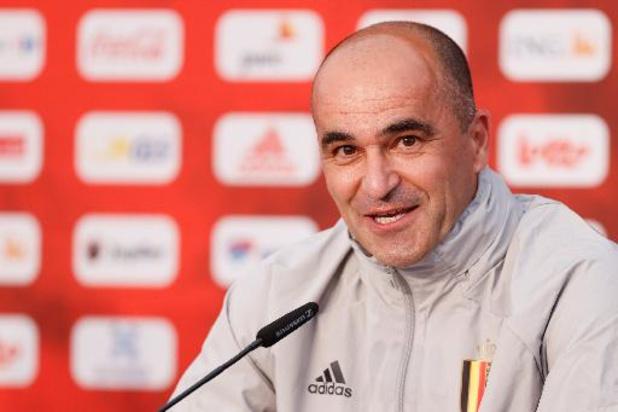 """Roberto Martinez avant d'affronter la Croatie: """"J'ai déjà mon onze de base en tête"""""""