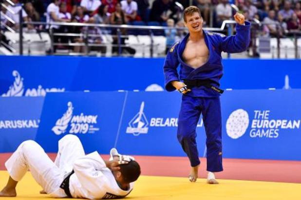 Matthias Casse N.1 mondial en moins de 81 kg après son sacre parisien