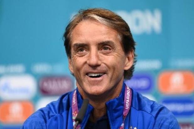 """Mancini mikt op vroege treffer in finale: """"We zullen Engeland onder druk zetten"""""""