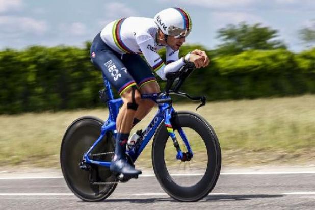 Matteo Sobrero is Italiaans tijdritkampioen, Ganna 4e