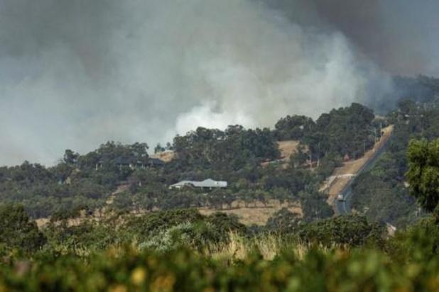 Australië: brandweer heeft bosbranden vlak bij Perth onder controle