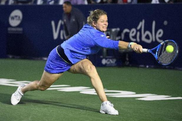 Kim Clijsters opent in Indian Wells tegen Tsjechische Siniakova
