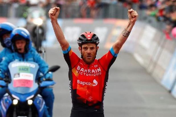"Damiano Caruso a ""eu sa journée de champion"" pour s'imposer à l'Alpe Motta"