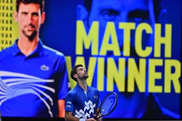 Entrée en matière réussie pour Novak Djokovic, vainqueur 6-3, 6-2 de Diego Schwartzman