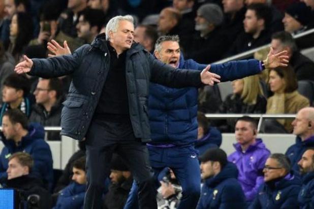 Belgen in het buitenland - Mourinho beleeft met Tottenham geen prettige wedstrijd tegen ex-ploeg Chelsea