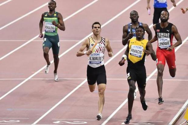 Kevin Borlée mag zetelen in atletencommissie IAAF