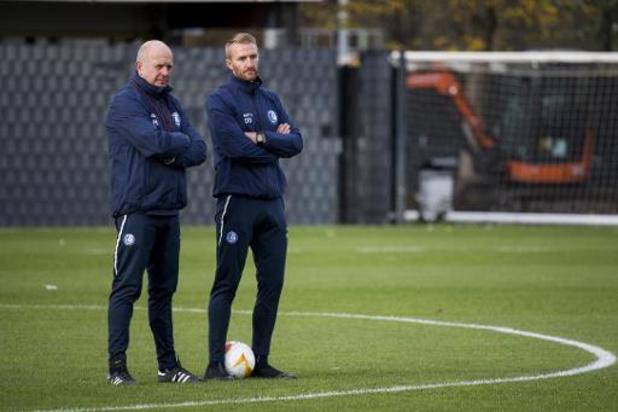 Gent-coach Wim De Decker hoopt op kentering tegen Hoffenheim
