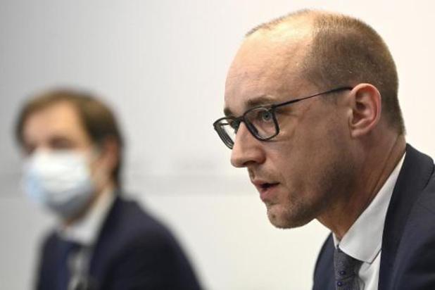 Van Peteghem craint la réactivation des règles de Maastricht après 2021