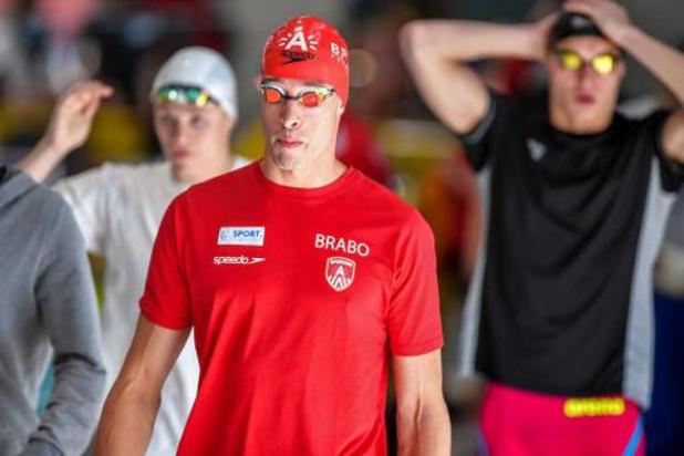 Pieter Timmers ne prendra pas le départ du 50m nage libre après une chute à l'entraînement