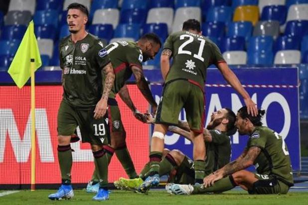Belgen in het buitenland - Kampioen Juventus gaat met de billen bloot in Cagliari, Daouda Peeters debuteert